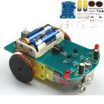 D2-1 Intelligent Tracking Car Kit 3V Small Smart Car DIY Kit