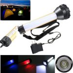 3W 2000LM Portable Rechargeable LED Flashlight For Camping Outdoor