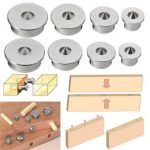 2 Set Dowel Tenon Center Points Pins 6/8/10/12mm Dowel Joint Alignment Tool