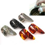 5Pcs Celluloid Guitar Picks Guitar Thumb Plectrums for Guitar