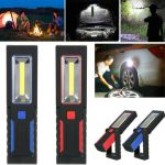 Super Bright COB LED 2 Modes Inspection Lamp Magnetic Hand Torch Flashgliht