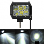 4inch 5D 18W 6000K LED Flood Spot Light Bar Driving For Jeep SUV Offroad Car Truck