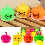 Squishy Squeeze Vomitive Pumpkin Toy Random Color Fun Gift Gadget Desk Decor