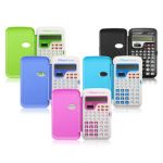 Candy Color Office Mini Scientific Calculator School Student Function Calculator Multifunctional Clock Calculator
