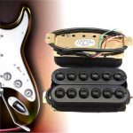 Black Open Humbucker Pickups For General Electric Guitar Bass