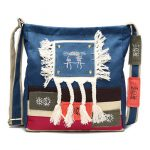Women Chinese Style Canvas Shoulder Bags Tribe National Style Crossbody Bags