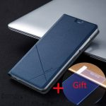 Msvii Stand Flip Cover Leather Case With Screen Protector For Xiaomi 5 Mi5