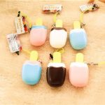 Squishy Popsicle Ice Lolly Ice Cream 6x3x1.7cm Cute Phone Bag Strap Pendent Gift Toy