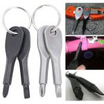 EDC Portable Phillips and Slotted Screwdriver Keychain Tool
