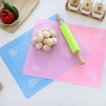 KCASA KC-BM6 Silicone Baking Mat Nonstick Oven Mat Heat Insulation Pad Kid Table Mat WithMeasurement