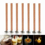13X130mm Scented Candles Wood Wick Sustainer Candle Making Supply