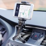 Black 360 Rotatable Car Air Vent Mount Car Holder Cradle Stand For Mobile Phones