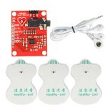 DC 3.3V AD8232 ECG Measurement Module Kit Portable Heart Monitor Biological