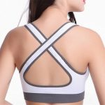 Comfort Seamless Stretch Anti-Bacterial Brassiere Breathable Gym Running Fitness Yoga Bra Sportwear