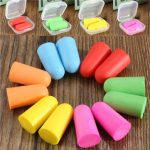 7 Colors Memory Sponge Ear Plugs Soft Sleep Work Travel Earplugs Noise Reducer