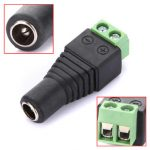 DC Power Female Plug Jack Adapter Connector Socket for CCTV Camera