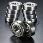 10Pcs 10x26x8mm Metal Sealed Deep Groove Ball Bearing 6000-2Z 6000-ZZ