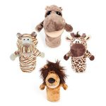 Hand Puppets Forest Animal Style For Baby Plush Toys