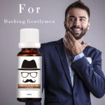 20ml Natural Beard Mustache Nourishment Oil Nursing Moisturizing Conditioner