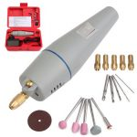 AC 220V Mini Electric Drill Electric Grinder Set with Power Adapter and Accessories