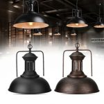 Retro Vintage Pendant Light Fixture Industrial Ceiling Lamp Loft Chandelier