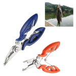 Fishing Lure Plier Scissors Line Cutter Hook Remover Split Ring Tackle Tool