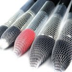 1pc Makeup Brush Net Cover Mesh Brushes Protectors Guards Protective Sheath Netting