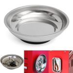 Magnetic Stainless Steel Parts Bowl For Auto Repair Tool Screw Metal Tray Dish