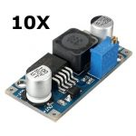 10Pcs 3A XL6009 DC-DC 50KHz Adjustable Step-up Power Converter Module