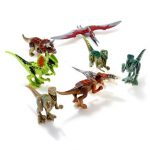 8Pcs Figurine Animal Figure Dinosaurs Carnotaurus Toys Model