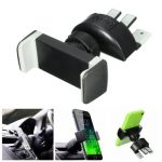 Car Air Vent Phone Holder CD Slot Mount Cradle with 360 Rotation Universal