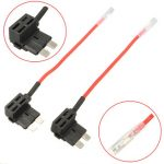 2pcs DC12V Fuse Holder Circuit Box Blade Standard Motorcycle Car ACU Without Fuses