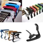 Trigger Quick Change Key Clamp Capo For Acoustic Electric Classic Guitar