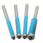 4pcs 1/4 Inch Shank Flush Trim Router Bit Set