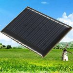 5V 45mA 0.22W Epoxy Mini Polycrystalline Solar Panel