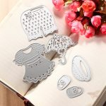 Lovely Clothes Metal Cutting Dies Stencil Scrapbook Card Album Paper Craft Decoration