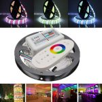 5M SMD5050 RGBW Non-Waterproof 300 LED Strip Tape Light Kit 2.4G RGBW Remote Controller DC12V