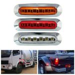 DC10-30V LED Side Maker Light Interior Lamp License Plate Lighting for Truck Bus Car Trailer