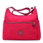 Women Leisure Big Capacity Waterproof Light Nylon Crossbody Bag 10 Color