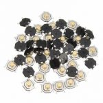 50pcs 4x4x2.5mm Waterproof Copper Button SMD Tactile Tact Micro Push Switch 4 Pin