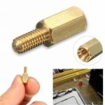 3mm Brass Standoff Spacer M3 6mm Male 8mm Female Thread
