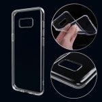 Soft TPU Ultra-thin Transparent Shockproof Back Case for Samsung Galaxy S8 Plus