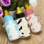 Squishy Toys Rising Back Soft Milk Bottle Cell Phone Hanging Straps Decor