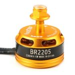Racerstar Racing Edition 2205 BR2205 2300KV 2-4S Brushless Motor CW/CCW Yellow For QAV250 ZMR250 260