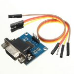 RS232 To TTL Serial Converter Module DB9 Connector For Arduino