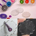 Paper Quilling Paper Winder Craft DIY Tool Layer Board Flower Shape Handcraft