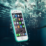 GP Ultra-thin TPU Waterproof Shockproof Touch Screen Protective Sleeve For iPhone 5 5S 4 Inch
