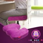 Honana WX-635 Slow Rebound Memory Foam U Shape Beautify Hip Cushion Soft Sofa Chair Seat Health Cushion