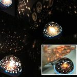 New Rotation Star Sky Romantic Room Light Lamp Night Projector