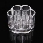Clear Acrylic Cosmetic Brushes Container Table Organizer Storage Makeup Tools